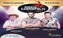 Programação de shows Rodeio Carmópolis 2017