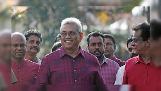Gotabaya Rajapaksa wins the Presidential Ekection