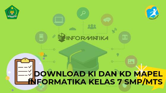 Download KI dan KD Mapel Informatika Kelas 7 SMP/MTs
