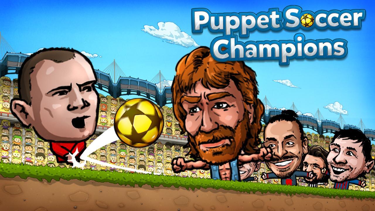 Puppet Soccer Champions League Hileli Apk - Zayıf Bot Hileli Apk