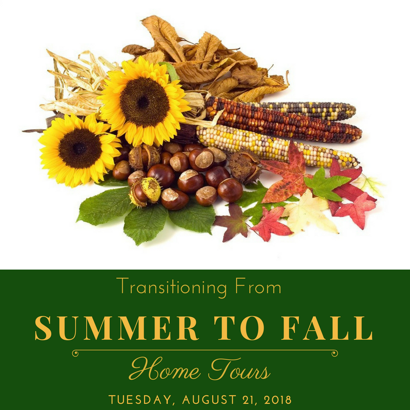 Summer to Fall Transitions