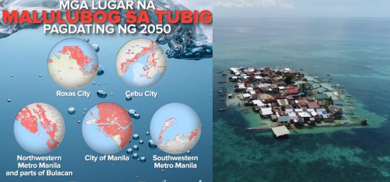 Narito ang mga lugar na Malulubog sa tubig pagdating ng taong 2050, ayon sa mga Experto