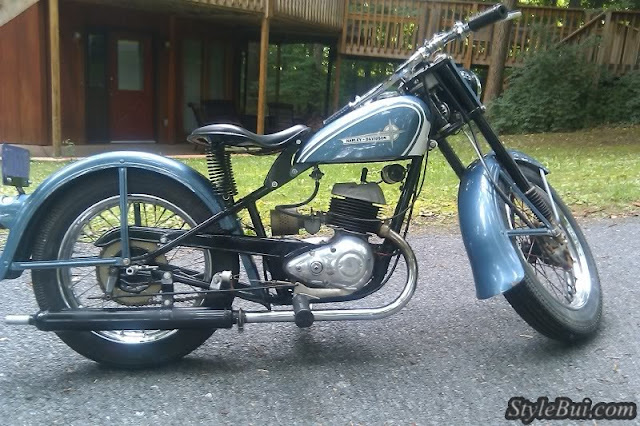 Xe cổ Harley Davidson Hummer Super 10