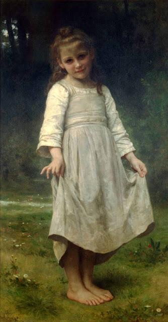 Адольф Вильям Бугро - Реверанс (1898)