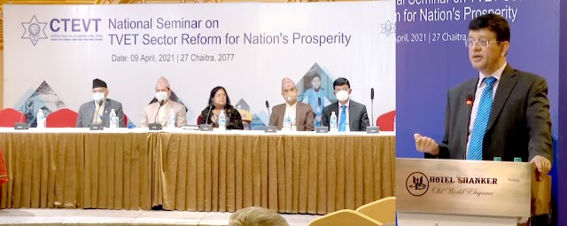 Director General of CPSC Chairs Panel Discussion at the CTEVT Nepal National Seminar 2021