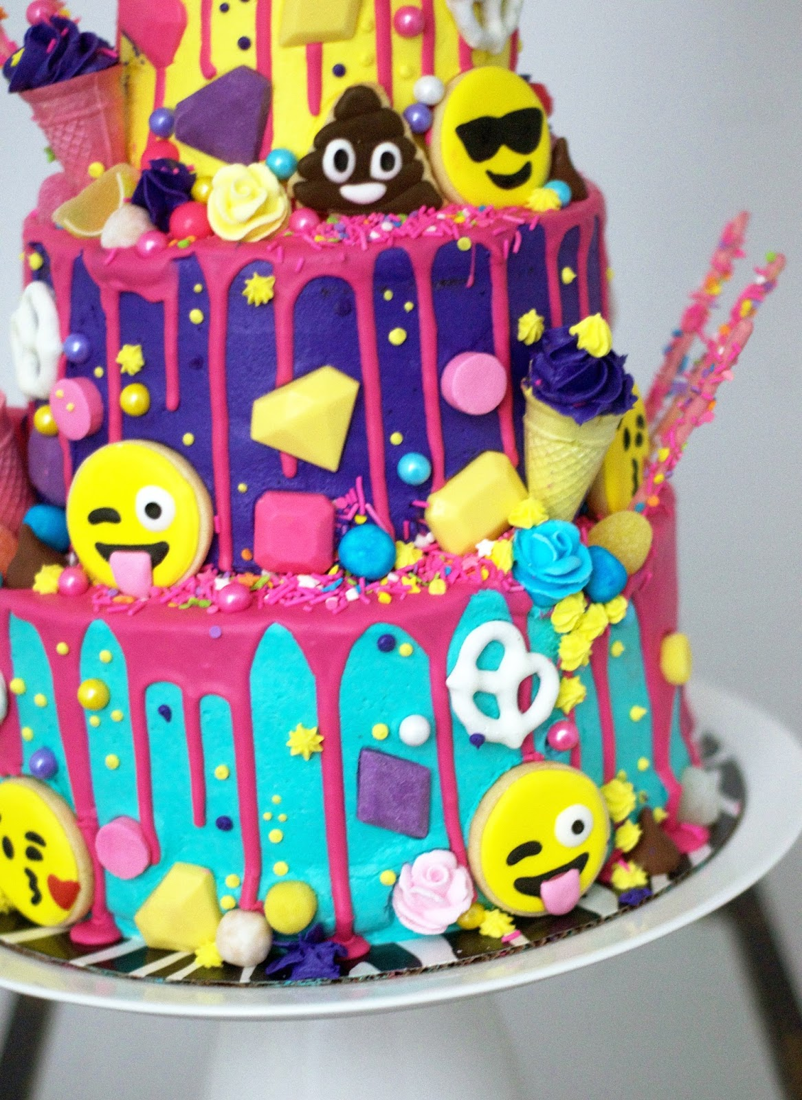 Cake Emoji Art : Emoji Cake - THE PARTY PARADE