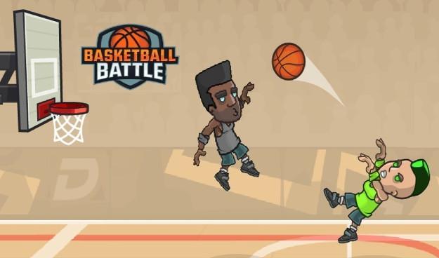 Basketball Battle - Ένα απίθανο μπασκετάκι για δύο παίκτες σε ένα smartphone