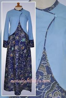 Baju Gamis Batik Bolero