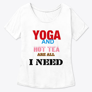 Yoga quotes t-shirt for women