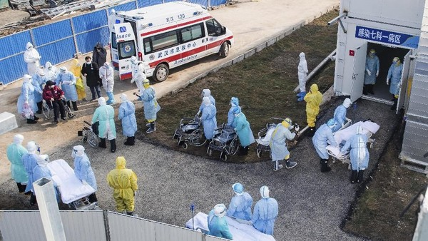 80 Persen Korban Tewas Virus Corona di China Berusia 60 Tahun ke Atas