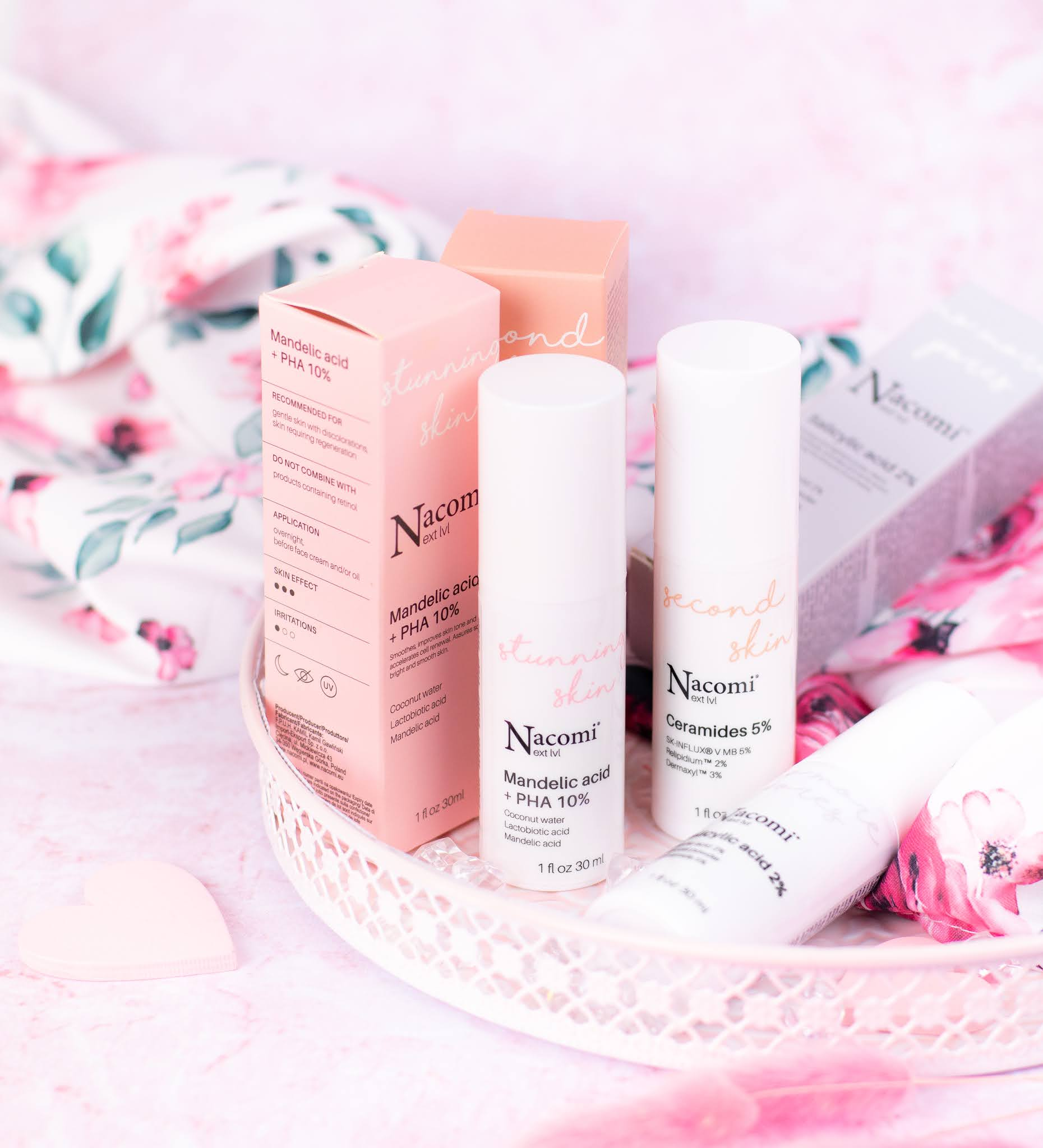 Nacomi Next Level - nowoczesna odsłona marki w formie serum!