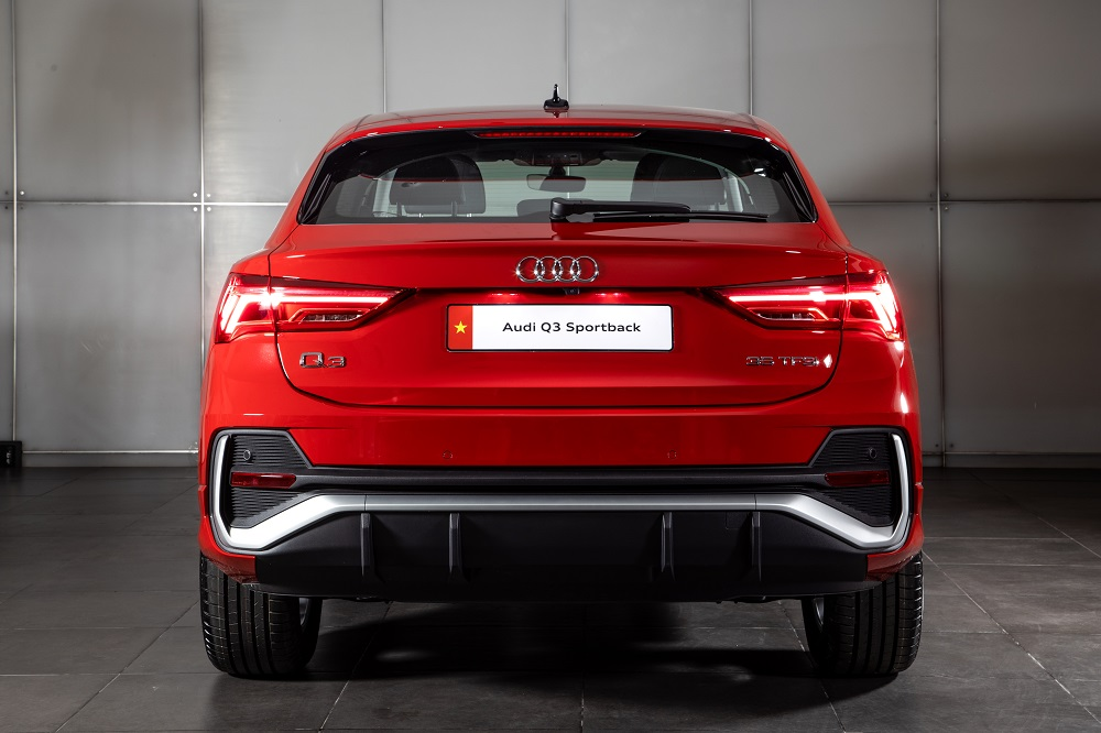 Audi Q3 Sportback 2020 ra mắt tại Việt Nam