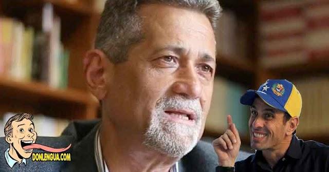De Grazia acusa a Capriles de Conspiración para tumbar a Guaidó y quedarse él