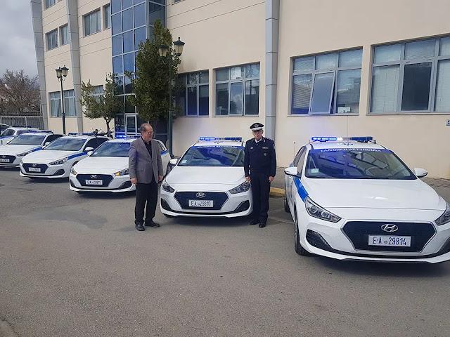 35 περιπολικά και 25 SUV  στην Αστυνομία από την Περιφέρεια Πελοποννήσου