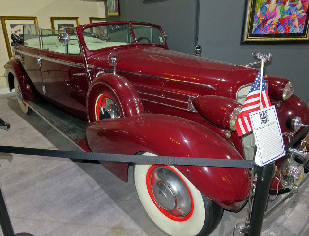 1935 Cadillac V-12.