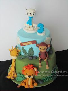 bolo animais bragança