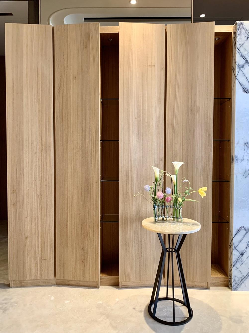 質感居家,實木皮板,室內裝潢,端景牆,入門鞋櫃,衣帽櫃