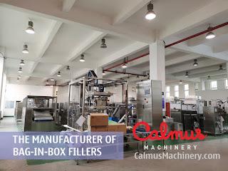 Factory Shot 1 of Bag-in-Box Filler Manufacturer - Calmus Machinery