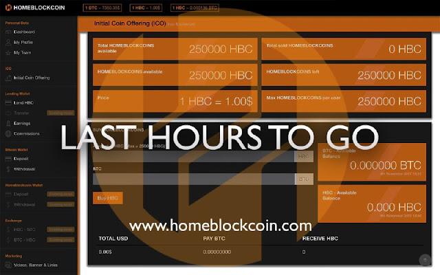 Dự án đầu tư HomeBlockCoin