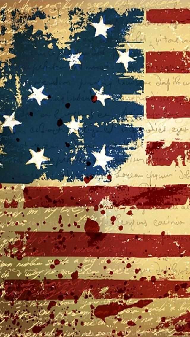 Twitter Headers / Facebook Covers / Wallpapers / Calendars: American Flag iPhone 5 Wallpapers ...