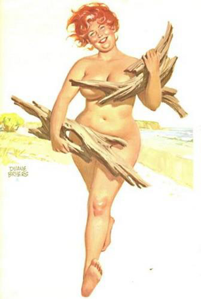 plus-size-nude-pin-up-girls