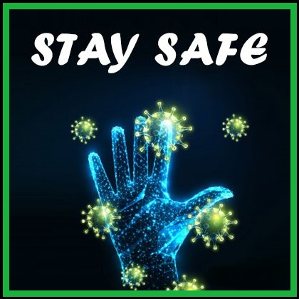 Stay safe quote
