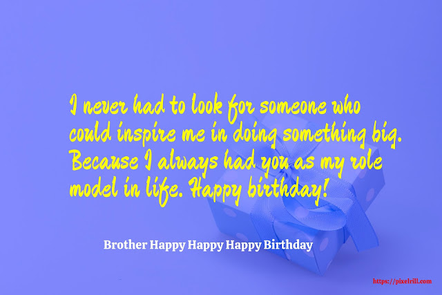 Happy Birthday Greeting card For Brother