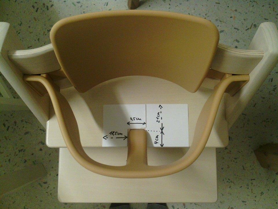 n hmamaschine sitzkissen f r tripp trapp mit babyeinsatz. Black Bedroom Furniture Sets. Home Design Ideas