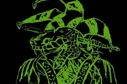 Ilustración, Titanoboa de Juan Cañón