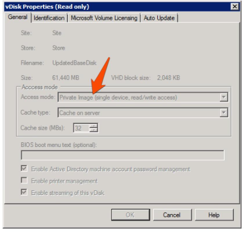 vSphere 5 1 VMware Tools Upgrade on XenDesktop Streamed VM