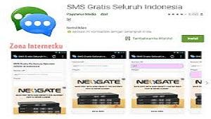 Cara SMS Gratis ke Semua Operator Dengan Aplikasi dan Tanpa Aplikasi