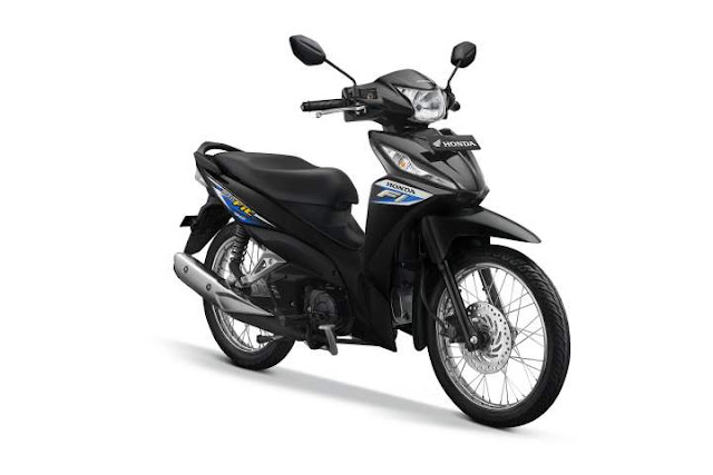 Warna New Honda Revo Galaxy Blue