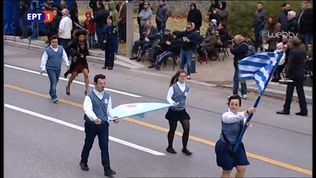 28η Οκτωβρίου: Ρίγη συγκίνησης από την παρέλαση των ΑΜΕΑ - ΦΩΤΟ