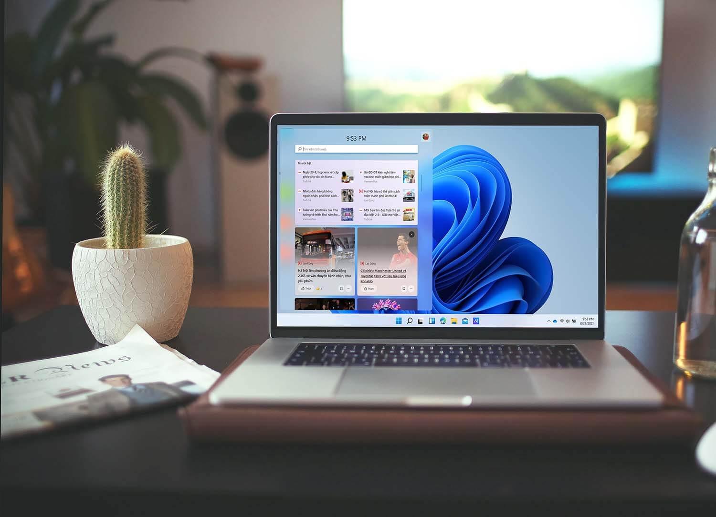 Hiển thị tin tức tiếng Việt trong Widgets Windows 11