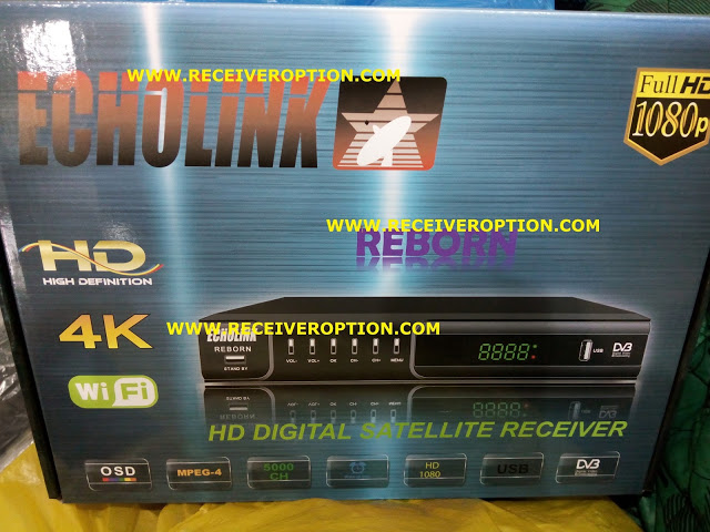 OLD MODEL ECHOLINK REBORN HD RECEIVER AUTO ROLL NEW SOFTWARE