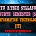 S4 Syllabus Information Technology [IT]