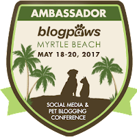 2017 BlogPaws Ambassador badge