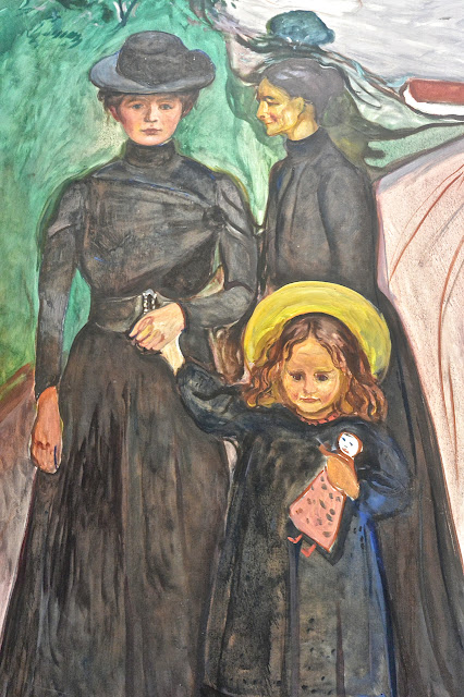 Stockholm : Edvard Munch  La famille Thielska Galleriet ïle de Djugarden