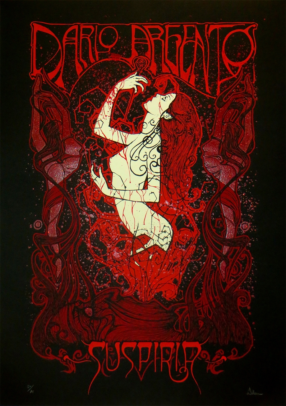 The Geeky Nerfherder: Cool Art: 'Suspiria' by Malleus