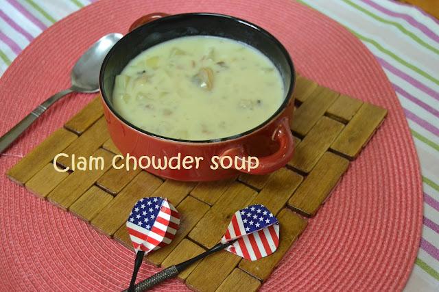 CLAM CHOWDER SOUP