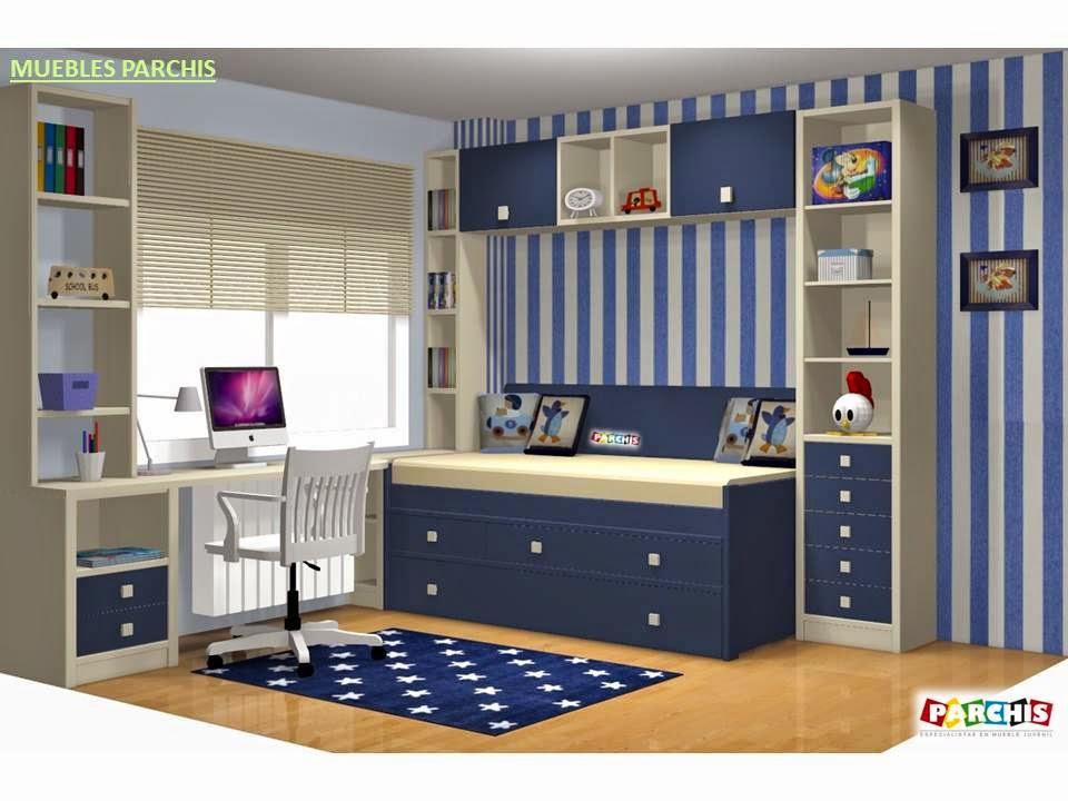 Muebles juveniles dormitorios infantiles y habitaciones - Dibujo pared habitacion infantil ...