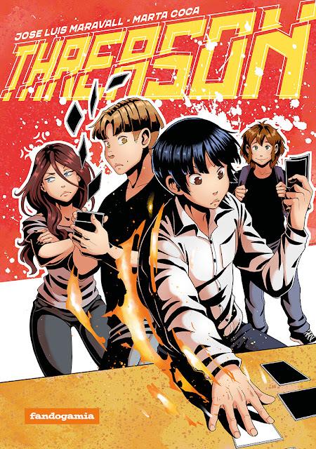 Fandogamia presenta THREASON, un juego de mesa... ¡y un manga! - Nuevo Croufando.