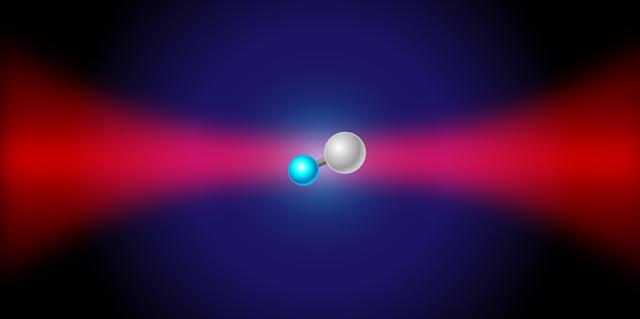 Molecular assembler creates perfect Qubit