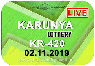 kerala lottery kl result, yesterday lottery results, lotteries results, keralalotteries, kerala lottery, keralalotteryresult, kerala lottery result, kerala lottery result live, kerala lottery today, kerala lottery result today, kerala lottery results today, today kerala lottery result, Karunya lottery results, kerala lottery result today Karunya, Karunya lottery result, kerala lottery result Karunya today, kerala lottery Karunya today result, Karunya kerala lottery result, live Karunya lottery KR-420, kerala lottery result 02.11.2019 Karunya KR 420 02 November 2019 result, 02 11 2019, kerala lottery result 02-11-2019, Karunya lottery KR 420 results 02-11-2019, 02/11/2019 kerala lottery today result Karunya, 02/11/2019 Karunya lottery KR-420, Karunya 02.11.2019, 02.11.2019 lottery results, kerala lottery result November 02 2019, kerala lottery results 02th November 2019, 02.11.2019 week KR-420 lottery result, 02.11.2019 Karunya KR-420 Lottery Result, 02-11-2019 kerala lottery results, 02-11-2019 kerala state lottery result, 02-11-2019 KR-420, Kerala Karunya Lottery Result 02/11/2019, KeralaLotteryResult.net