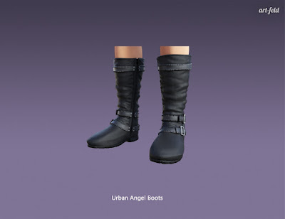 Urban Angel for Genesis 3 Female
