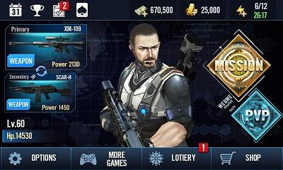 pada kesempatan kali ini admin akan membagikan sebuah game android mod terbaru yang berge Elite Killer: SWAT v1.3.4 Mod Apk (Unlimited Money/Gold)