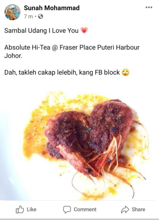 Geram, Post Facebook Kena Block Sebab Letak Lebih Dari 1 Gambar!