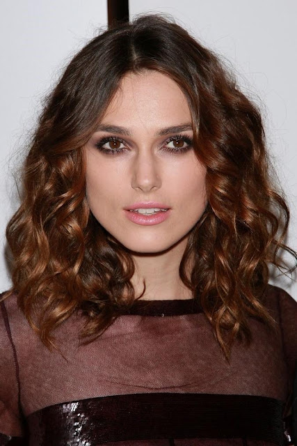 Keira Knightley Brunette With Curls hair