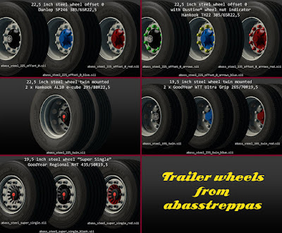 The mega/super/huge/giga trailer wheel pack
