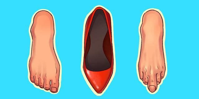 6 Jenis Sepatu Yang Dapat Merusak Tubuh Anda